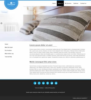Designer website design